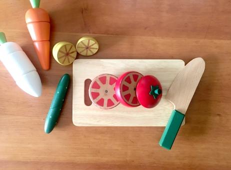 4. 野菜はカット済みで1回使い切り。生ゴミ&ムダなし!