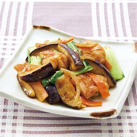 鶏肉と野菜の甘酢炒め