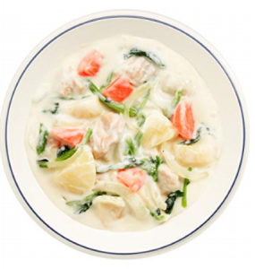鶏肉と野菜のクリーム煮